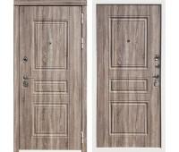 Входная металлическая дверь Дива МД-25 (Дуб Турин / Дуб Турин)