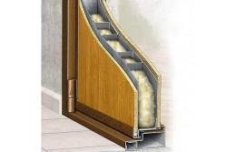 Как устроена шумоизоляция входных дверей в квартиру