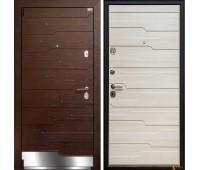 Входная металлическая дверь Арма Галеон (Венге / Акация)