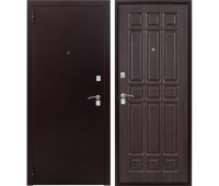 Входная металлическая дверь Дачник (венге)