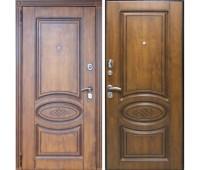 Входная металлическая дверь Орион Винорит (Golden патина)