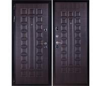 Входная металлическая дверь Премиум 3К (венге/венге)