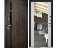 Входная металлическая дверь Снедо Премьер цвет Белый матовый