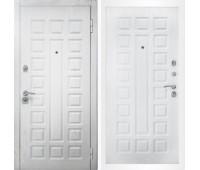 Входная металлическая дверь Снедо Сенатор 2К Альберо браш грей